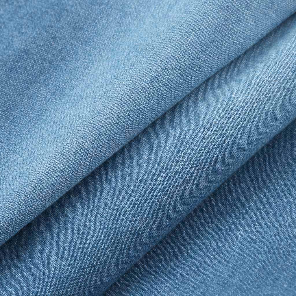 Pantalon Jean Femme Grande Taille,Koly Jeans trou/é Slim Skinny Pantalon en Denim Taille Haute d/échir/ée Bottoms v/êtements Femmes