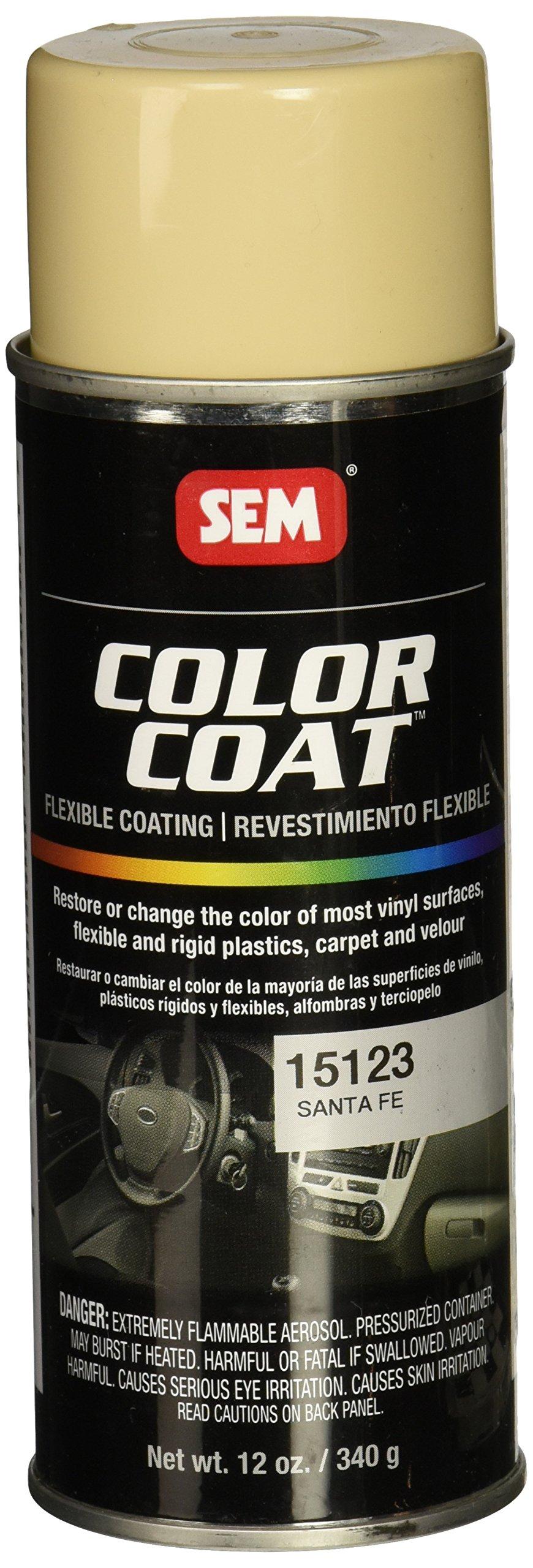 SEM Products 15123 Santa Fe Color Coat - 12 oz.