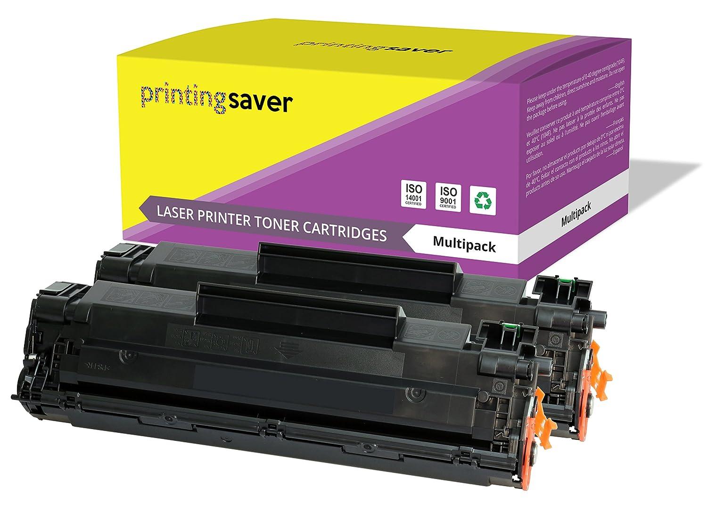 M1522n MFP M1120n MFP P1506 impresoras M1522nf MFP M1522 MFP M1520 Printing Saver 2X Negro T/óners compatibles para HP Laserjet M1120 MFP P1505 P1505n