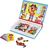 Janod J02719 Magneti'Book Costumes Educational Game, Boys