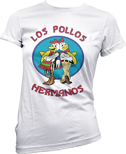 PacDesign T-Shirt Donna Breaking Bad Los Pollos Hermanos Pd0000a