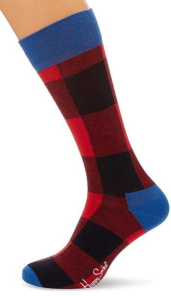 Happy Socks Lumberjack Sock, Calcetines para Hombre, (Pack de 6 ...