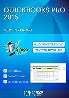 Amazon quickbooks pro 2016 small business accounting software learn quickbooks pro 2016 training video tutorials manage small business finances fandeluxe Choice Image