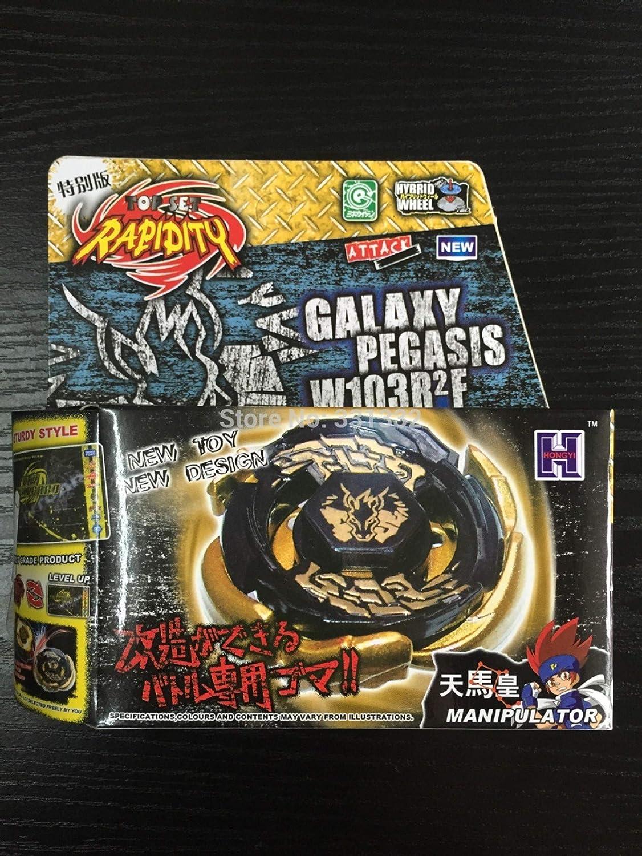 Yezelend Kampfkreisel Galaxy Pegasus Gold Metal Fusion f/ür Beyblade Masters 4D