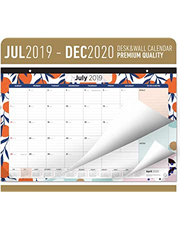 Desk Calendars | Shop Amazon com