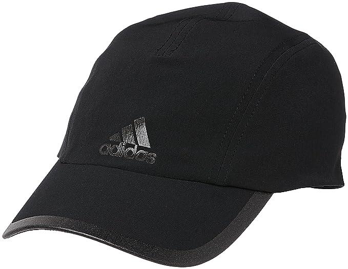 adidas Climalite Running Cap (Black, One Size) at Amazon