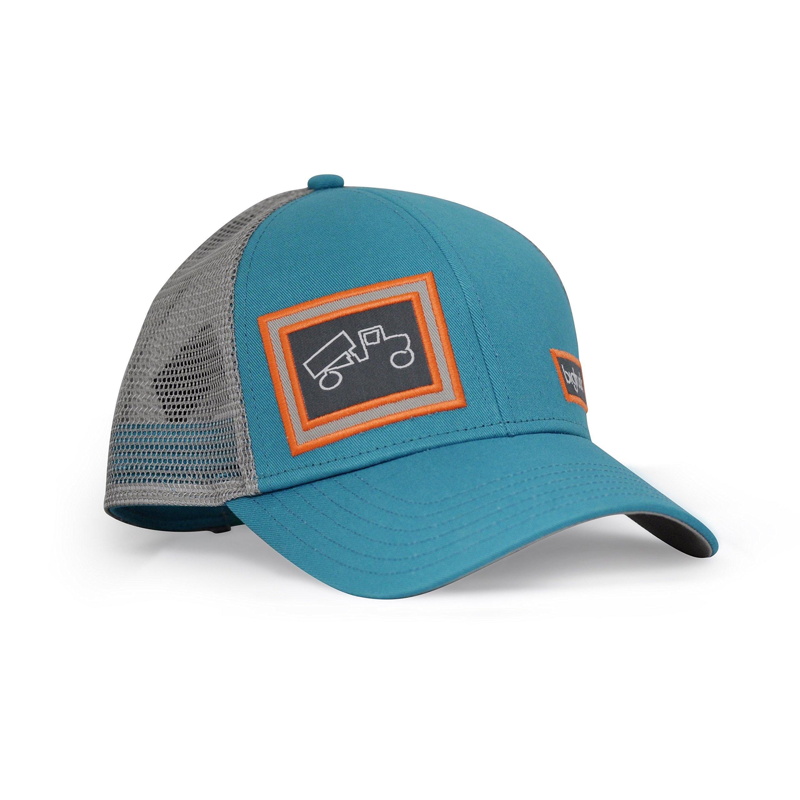 bigtruck Classic Trucker Hat, Jade Grey, Adult