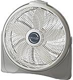 """Lasko 3520 20"""" Cyclone Pivoting Floor Fan,White 20"""