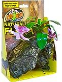Zoo Med Orchid With Rock Plante en Plastique pour Terrarium
