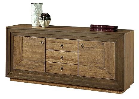Credenza Da Esterno Fai Da Te : Credenza ante in legno di rovere massiccio larghezza: 180 cm