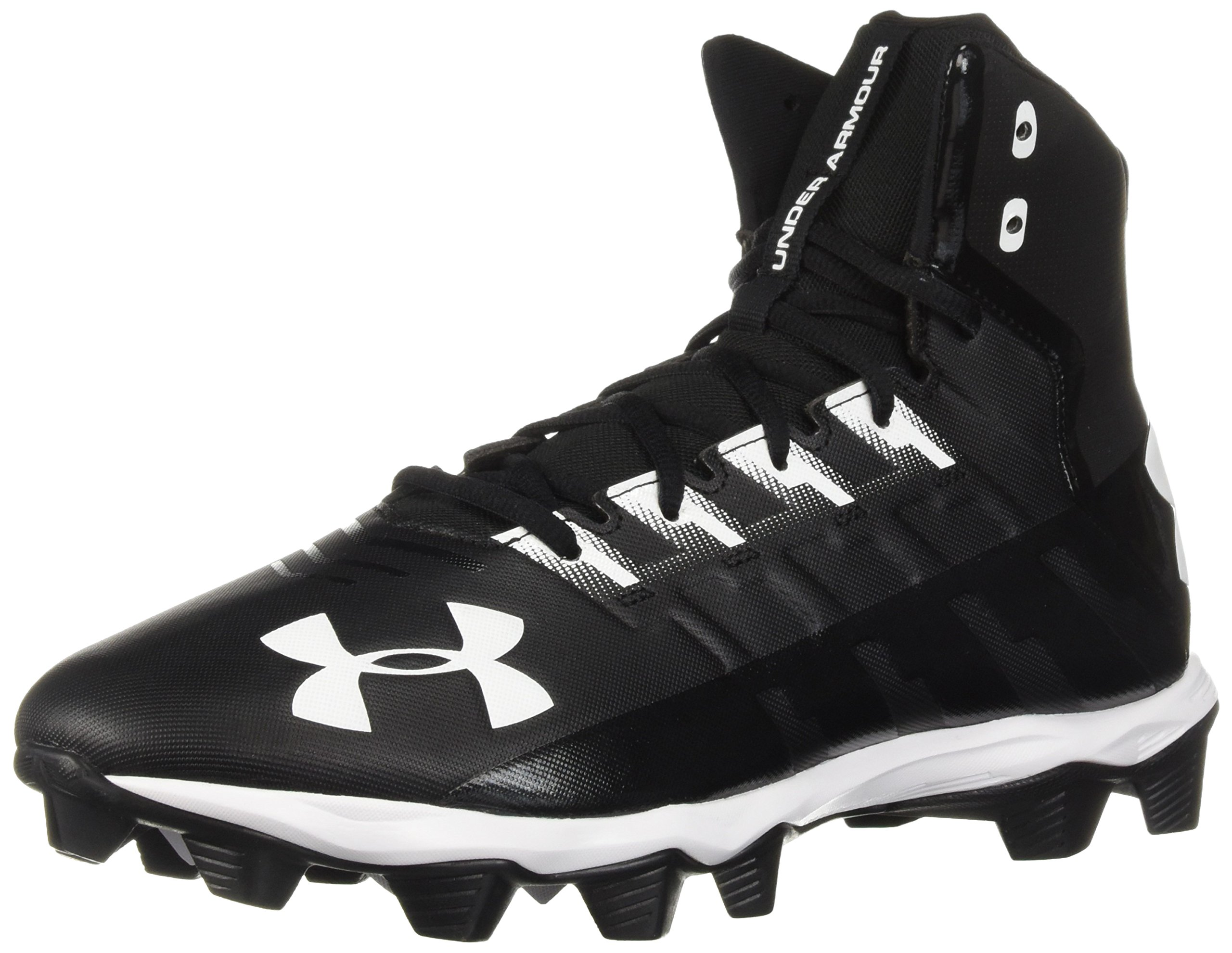 Under Armour Men's Renegade RM Wide Football Shoe 002/Black, 11 W US by Under Armour (Image #1)