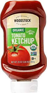 Woodstock Woodstock Organic Tomato Ketchup Squeeze 567g, 567 g