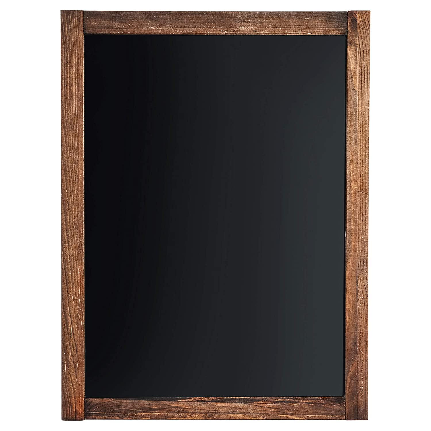"Chalkboard | Magnetic & Non-Porous | Framed Chalkboard | Vintage Decor | Chalk Board for Wedding, Kitchen, Bar, Restaurant, Menu & Home | Chalkboard Sign | 18"" x 24"" 