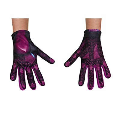 Disguise Pink Power Ranger Movie Child Gloves, One Size: Toys & Games