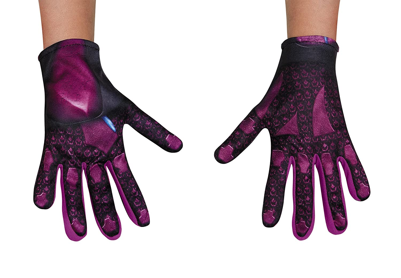 Girls Pink Ranger Movie Gloves Standard