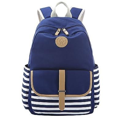 ea60133eaad6 Amazon.com  Bagerly School Backpack