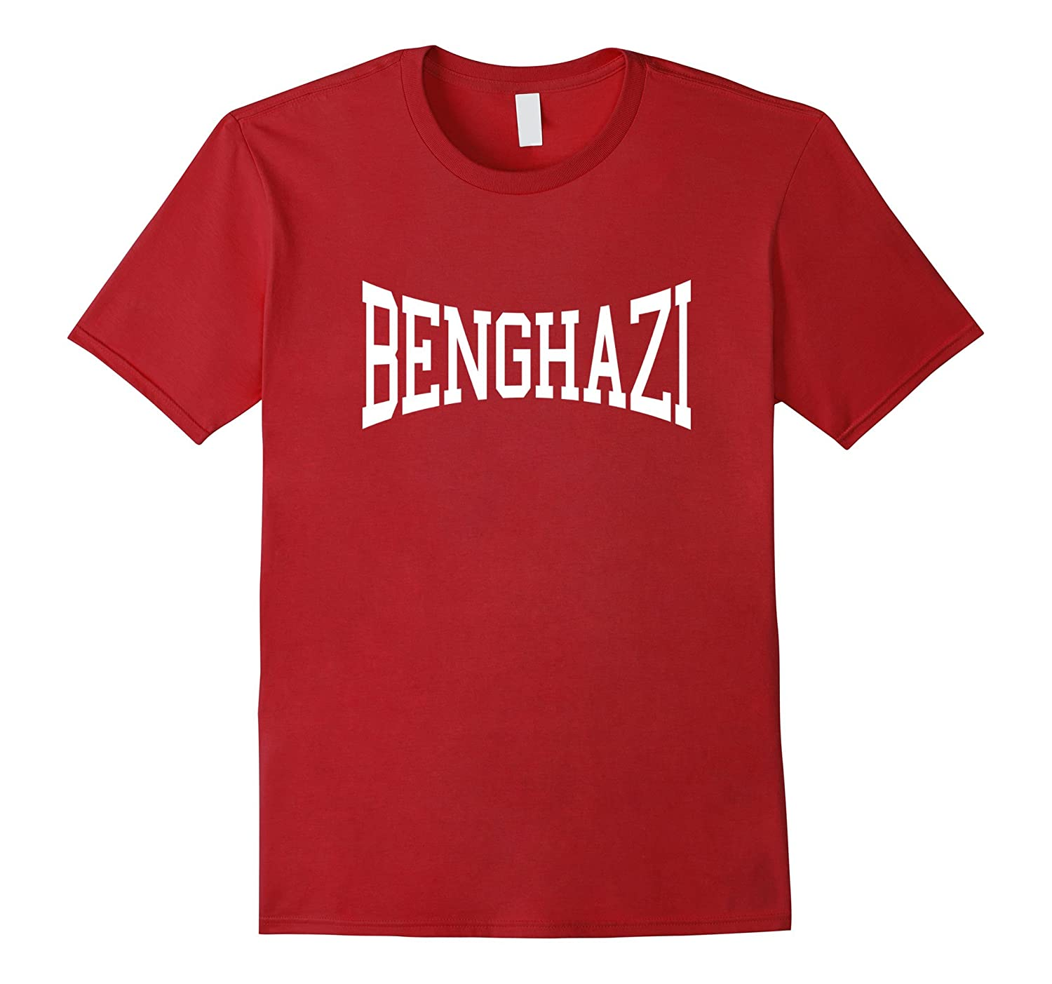 Benghazi Arched Text T-Shirt