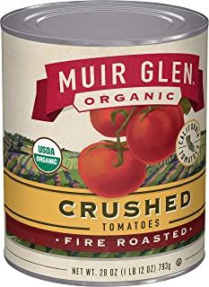 product image for Muir Glen Organic Crushed Fire Roasted Tomatoes, 28 oz (Pack of 12)
