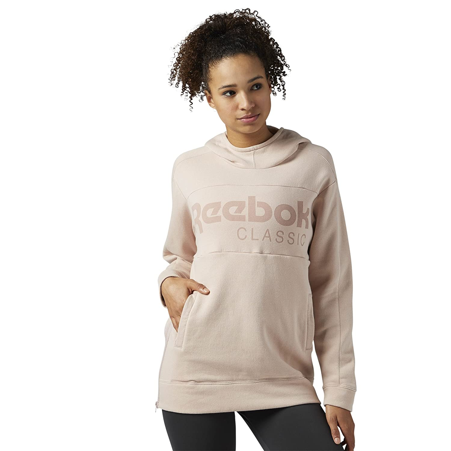 Reebok Classic Women's Foundation Graphic Over The Head Hoody BR7491