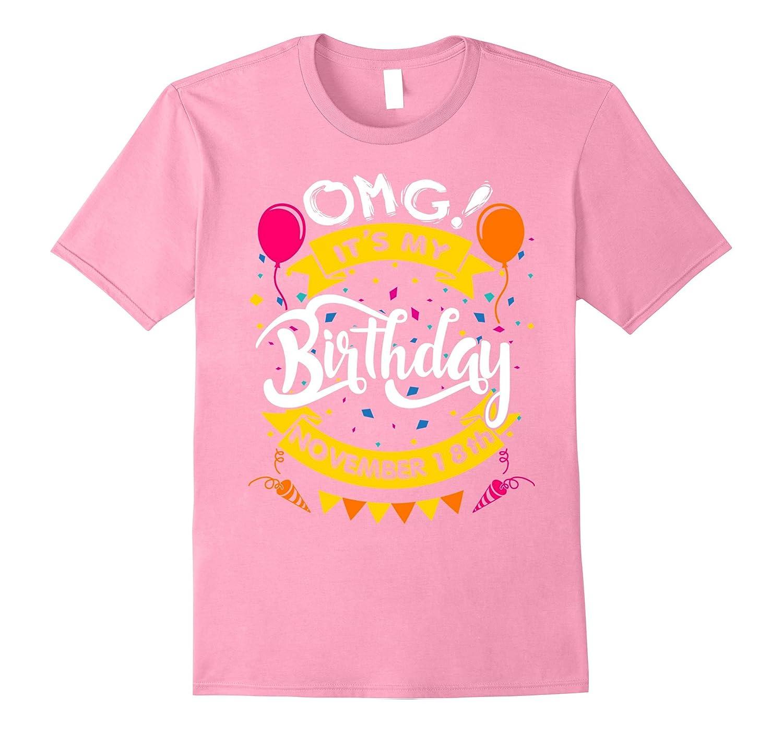 OMG! It's My Birthday November 18th - Birthday Gifts-Rose
