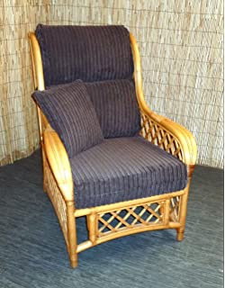 new replacement cushion covers for cane wicker and rattan conservatory and garden furniture brown jumbo