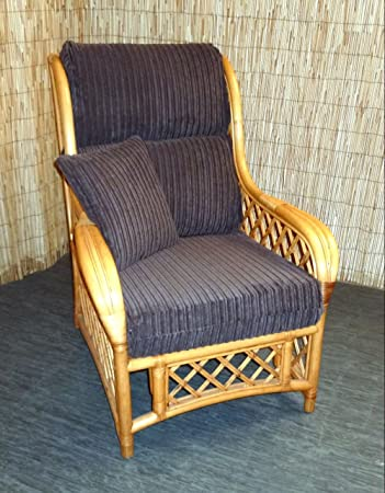 New Replacement Cushion Covers For Cane Wicker And Rattan Conservatory And Garden  Furniture   Brown Jumbo Part 50