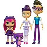 Little Charmers - Family Pack - Articulated Dolls & Pet Figure