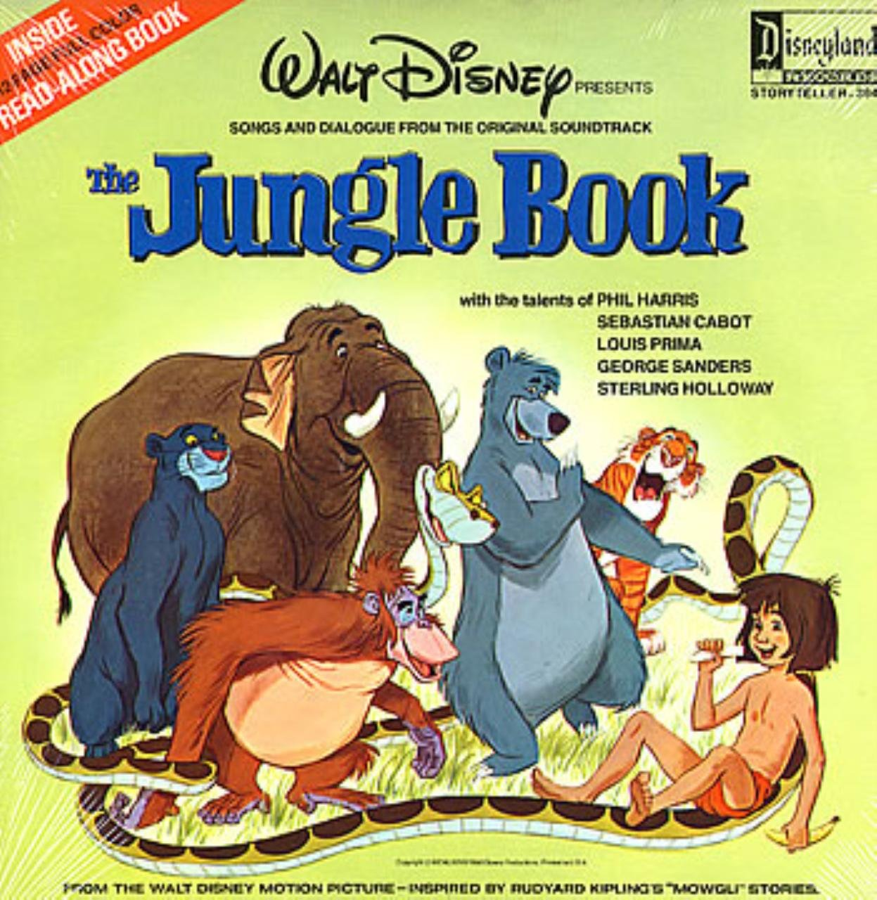 Walt Disney The Jungle Book Music