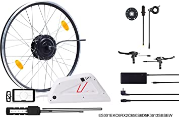 Ebici E-Bike, Pedelec, Kit Bicicleta eléctrica de montaña MTB ...