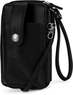 MUNDI Jacqui Vegan Leather RFID Womens Crossbody Cell Phone Purse Holder  Wallet