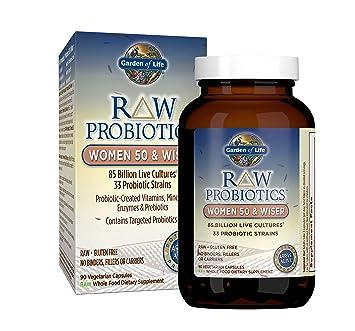 Amazon.com: Garden of Life - Probióticos RAW para mujer 50 y ...