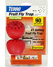 Woodstream TERRO Fruit Fly Trap – 2 Pack T2502
