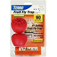 "TERRO T2502 Fruit Fly Trap €"" 2 traps"