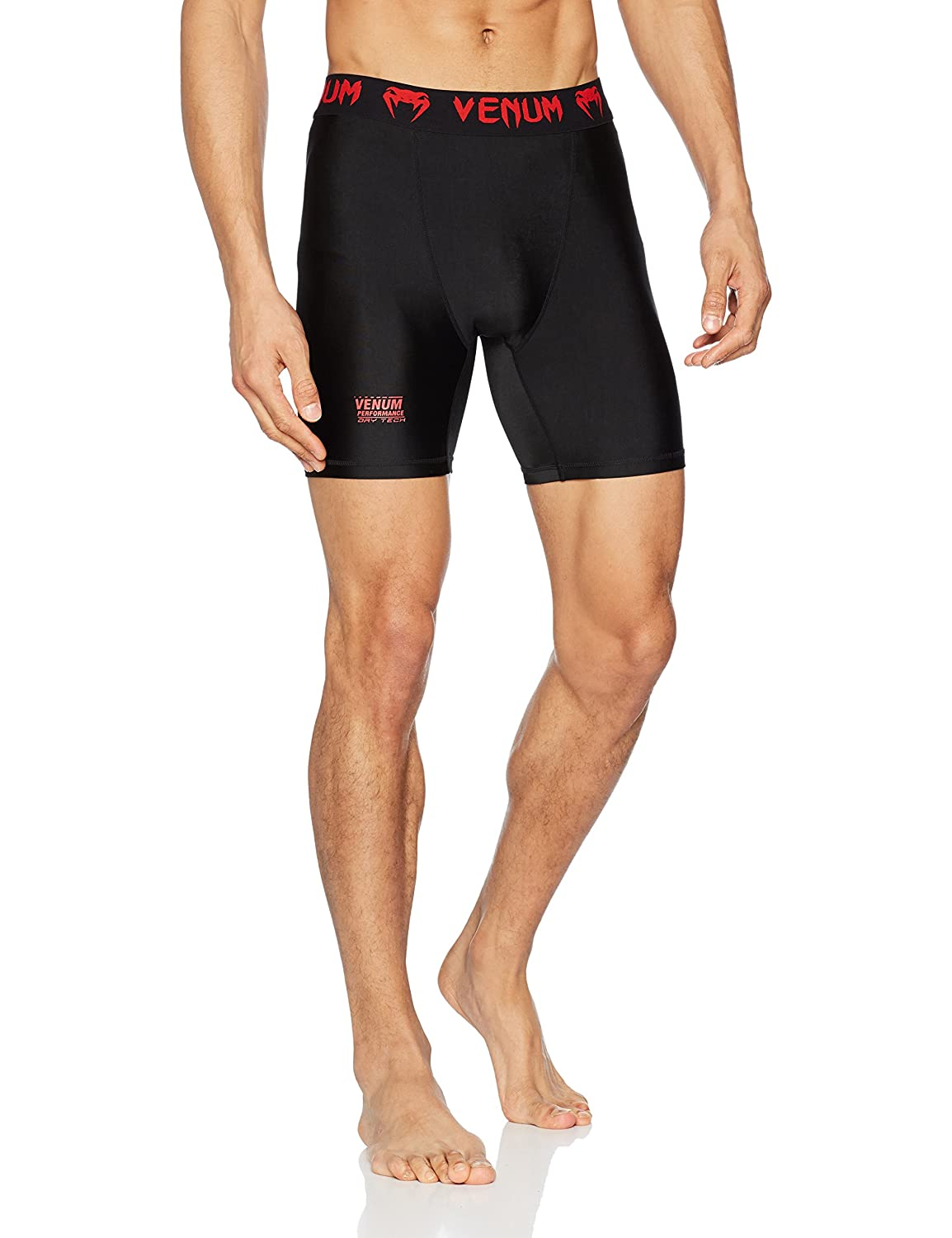 Venum Contender Compression Shorts US-VENUM-2027-Black/Red-L-P