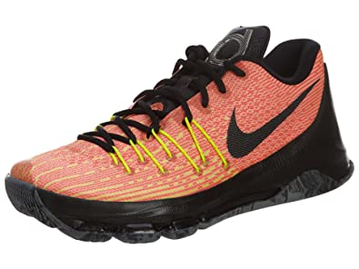 best sneakers b8bdc 5ddda Nike kD 8 chaussures de performance - Orange - Orange, 42