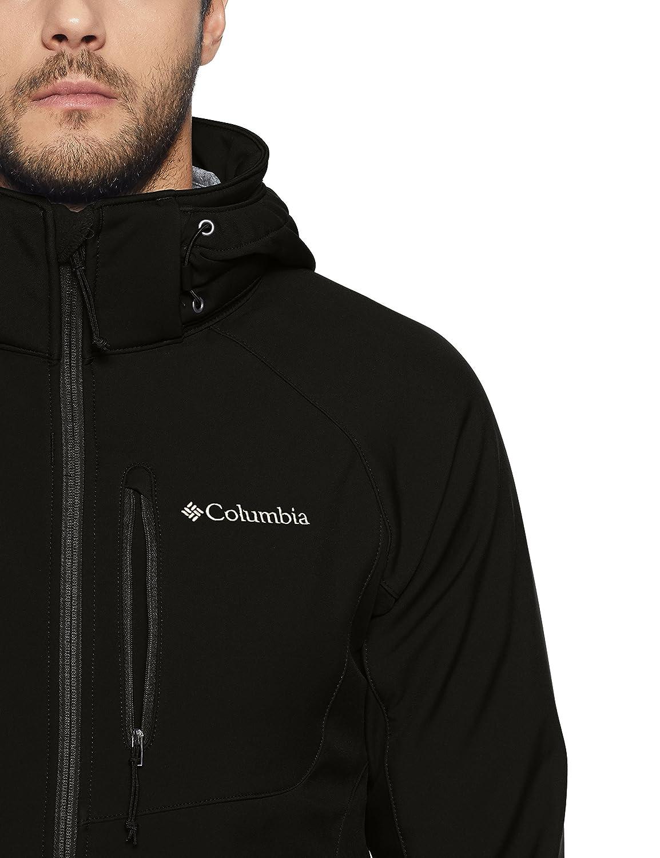 Polyester Cascade Ridge II Softshell Columbia Mens WM3241 Windproof Softshell Jacket Farbe
