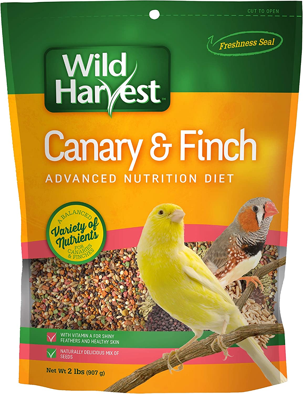 Wild Harvest B12492Q-001 Canary And Finch Food Blend, One Size