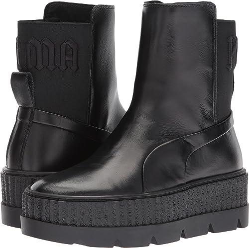 fae8ca8e1f6 PUMA Unisex Puma x Fenty by Rihanna Chelsea Sneaker Boot Puma Black 8.5  Women   7
