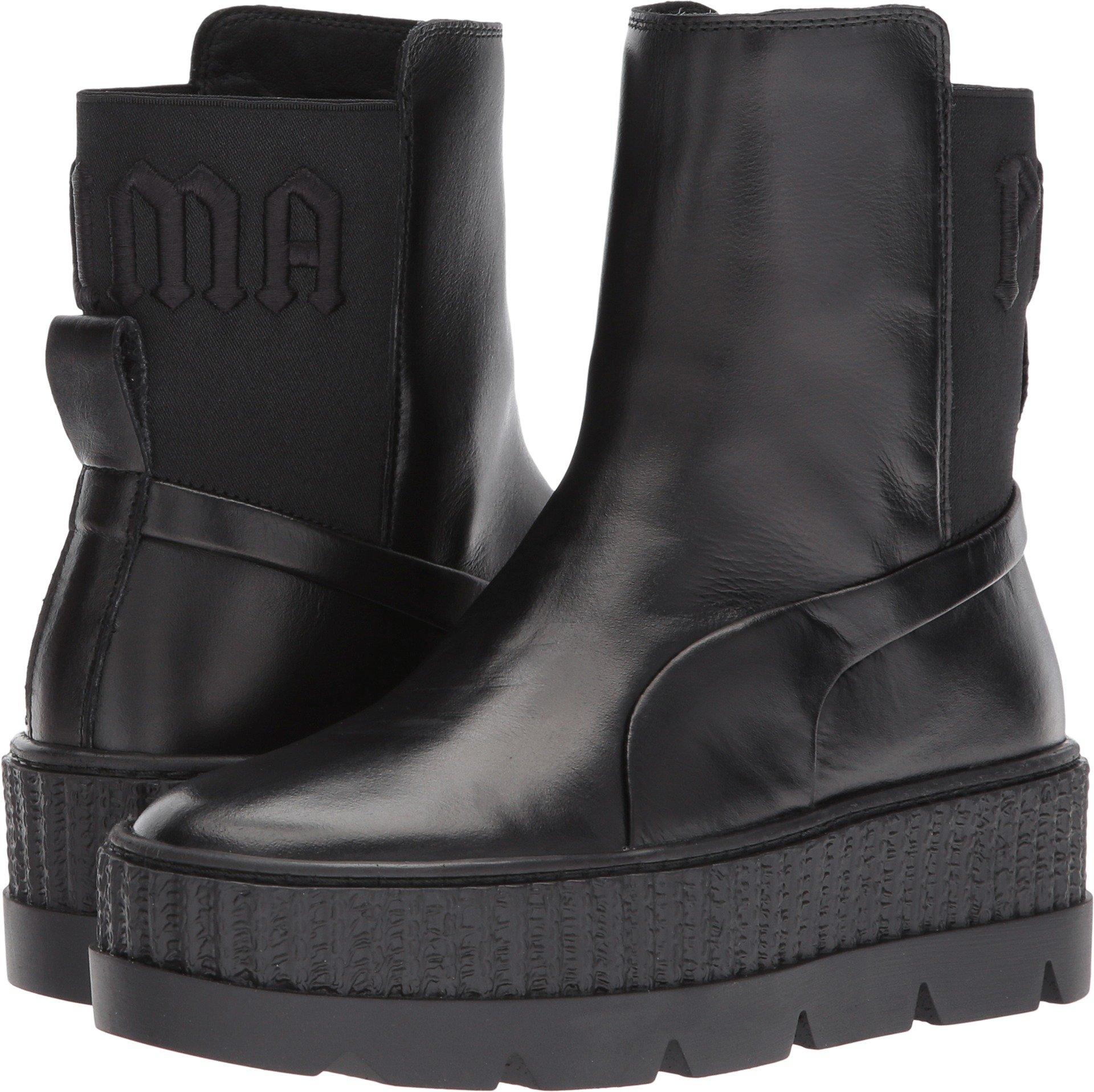 PUMA Unisex x Fenty by Rihanna Chelsea Sneaker Boot Black 8.5 Women/7 Men M US