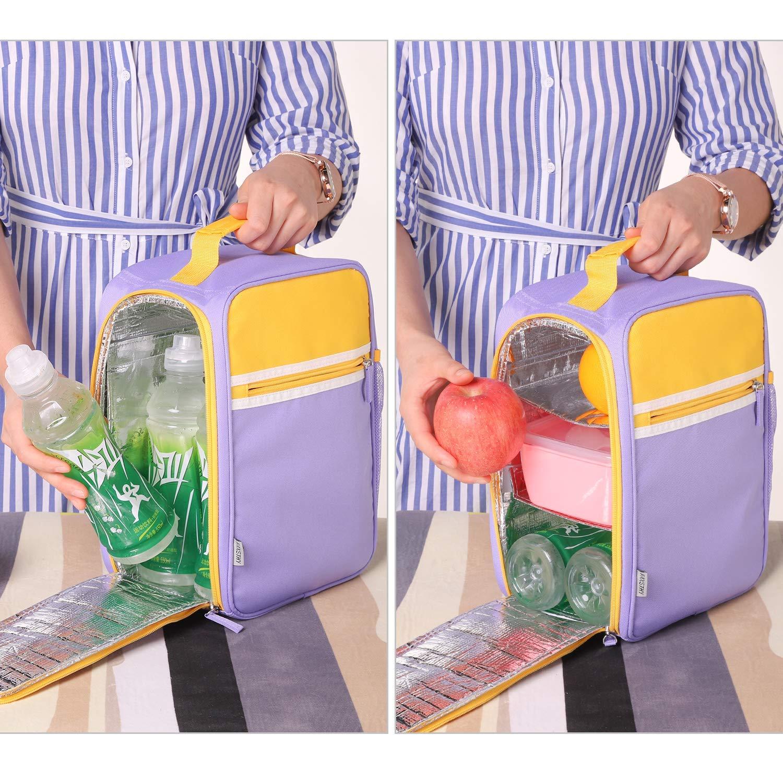 735cd9bc26 ... Reusable Waterproof Lunch Bag for Men Women