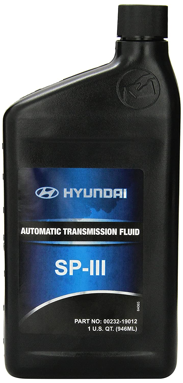 hyundai transmission fluid automatic oil sp iii genuine elantra atf quart oe walmart