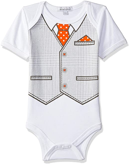 f9c6402ab1ef Mother s Choice Baby Boys  Regular Fit Romper Suit  Amazon.in ...