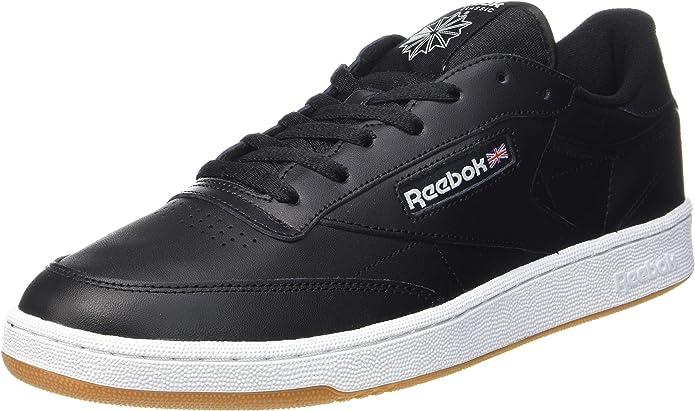 Reebok Club C 85 Sneakers Fitnessschuhe Herren Schwarz
