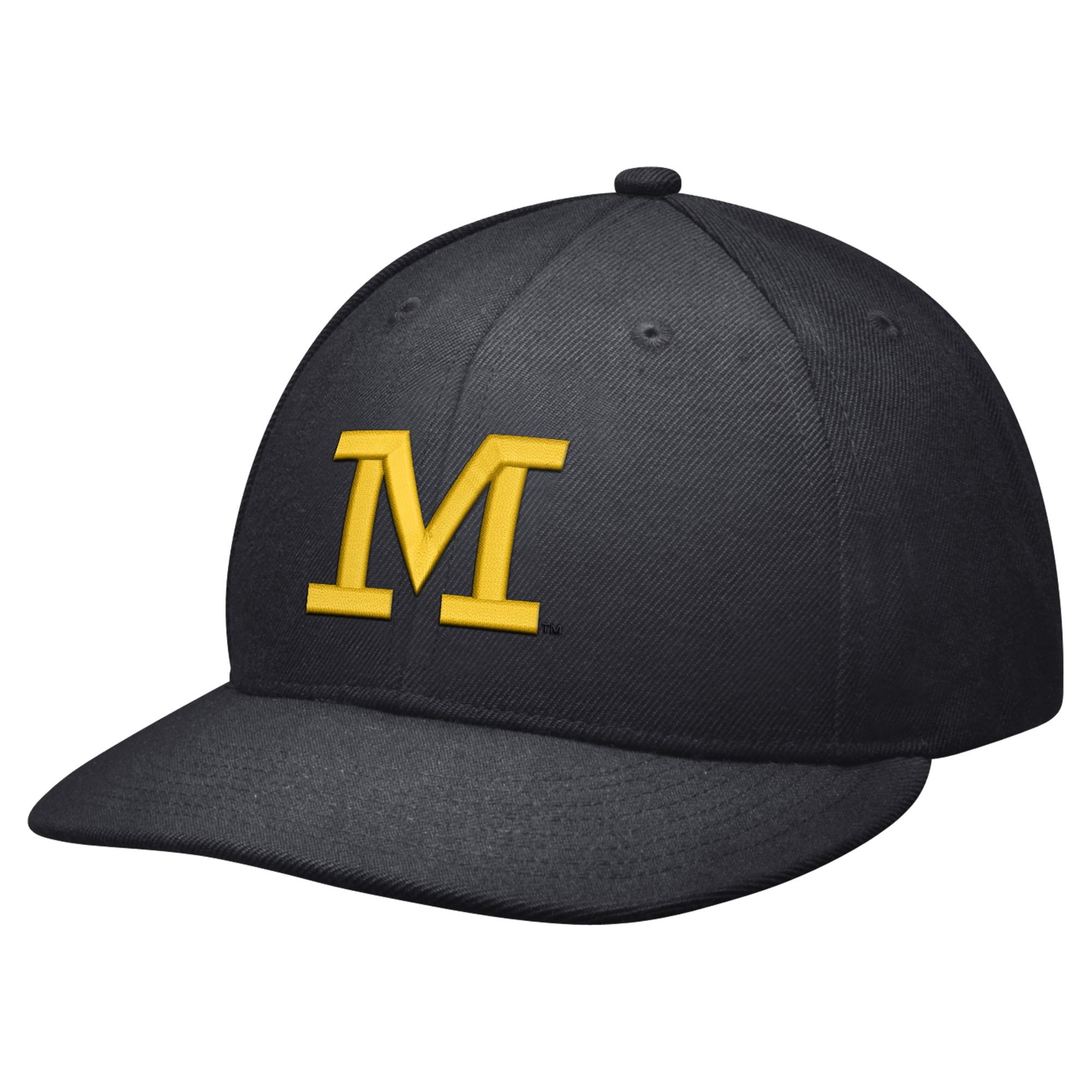 6c33c506082 discount code for nike jordan wool true college ncaa michigan wolverines  football fitted hat 7 3