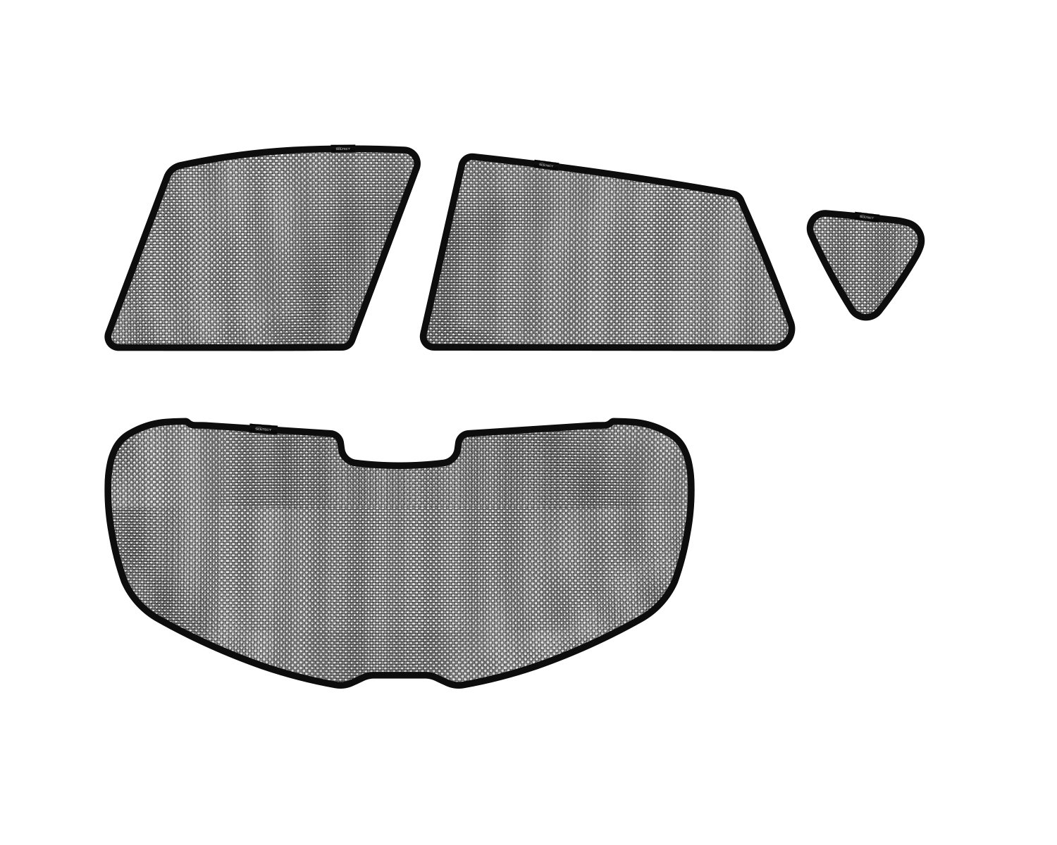 3D MAXpider S1MZ0150 Soltect Complete Set Custom Fit Sun Shade (for Select Mazda 3 Hatchback Models)