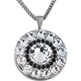 Swarovski Crystal Golf Ball Markers with Magnetic Necklace - Premium Golf Gifts for Women by Girls Golf Bling