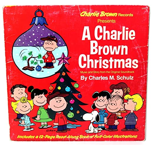a charlie brown christmas music story from the originial soundtrack by charles m - Amazon Christmas Music