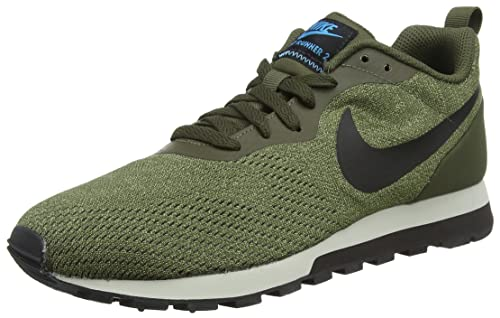 Nike MD Runner 2 ENG Mesh amazon-shoes grigio Sportivo
