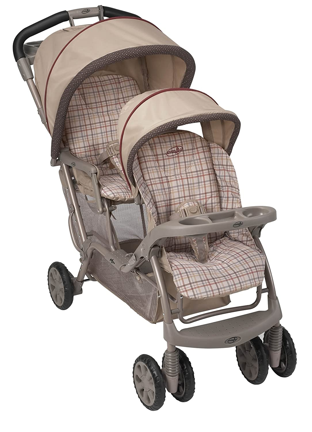 amazoncom  evenflo take me too express tandem stroller    - amazoncom  evenflo take me too express tandem stroller   little bears(discontinued by manufacturer)  baby