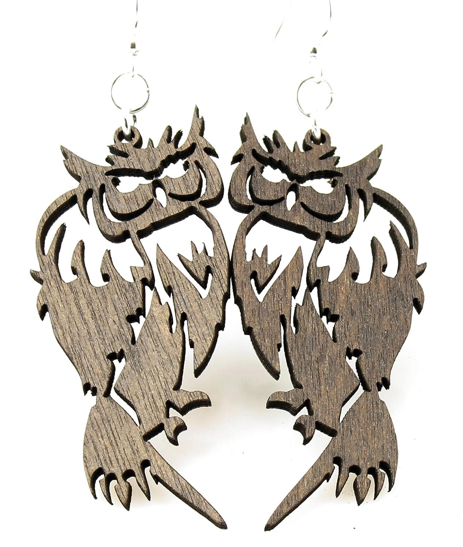 Barn Owl Earrings